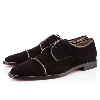 Christian Louboutin Bruno Zip Loafers Black