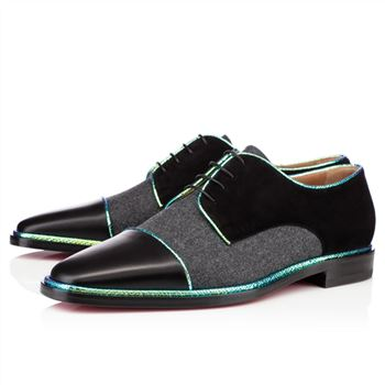 Christian Louboutin Bruno Orlato Loafers Black/Grey