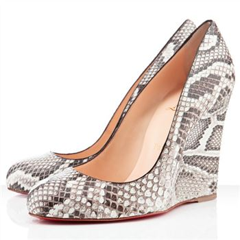 Christian Louboutin Ron Ron Zeppa 80mm Wedges Roccia