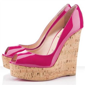 Christian Louboutin Uue Plume 140mm Wedges Pink