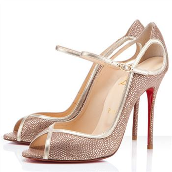 Christian Louboutin 1en8 100mm Peep Toe Pumps Multicolor