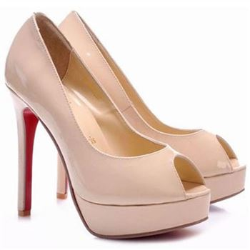 Christian Louboutin Altadama 140mm Peep Toe Pumps Pink