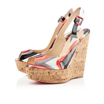 Christian Louboutin Une plume 140mm Wedges Multicolor