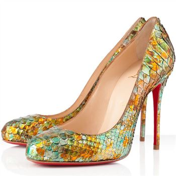 Christian Louboutin Fifi 100mm Pumps Multicolor
