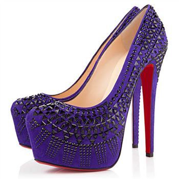 Christian Louboutin Decorapump 160mm Pumps Purple
