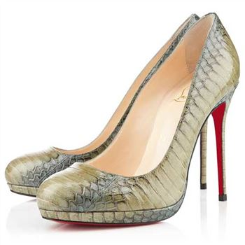 Christian Louboutin Filo 120mm Pumps Green