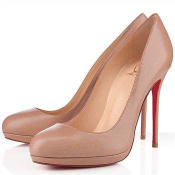 Christian Louboutin Filo 120mm Pumps Nude