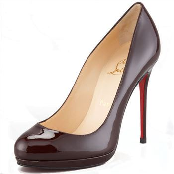 Christian Louboutin Filo 120mm Pumps Dark Red