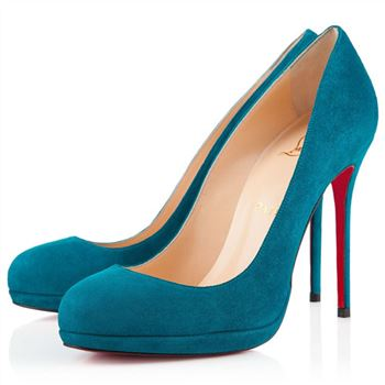 Christian Louboutin Filo 120mm Pumps Peacock