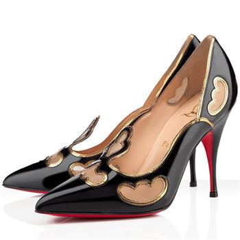 Christian Louboutin Indies 120mm Pumps Black