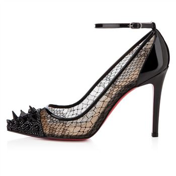 Christian Louboutin Picks And Co 100mm Pumps Black