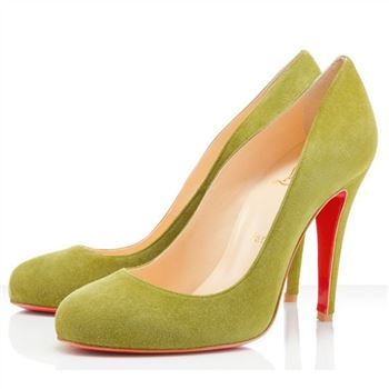 Christian Louboutin Ron Ron 100mm Pumps Yellow