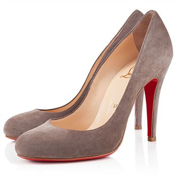 Christian Louboutin Ron Ron 100mm Pumps Taupe