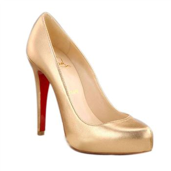 Christian Louboutin Rolando Hidden 120mm Pumps Gold