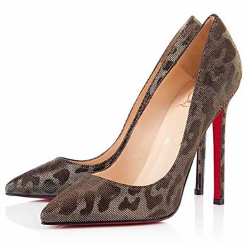 Christian Louboutin Pigalle 120mm Pumps Leopard
