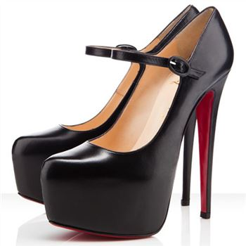 Christian Louboutin Lady Daf 160mm Mary Jane Pumps Black