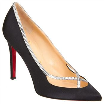 Christian Louboutin Super Vic 120mm Pumps Black