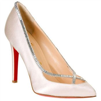 Christian Louboutin Super Vic 120mm Pumps White