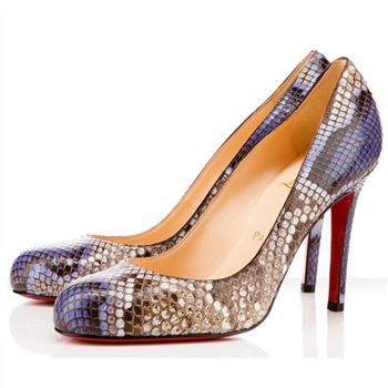 Christian Louboutin Simple 100mm Pumps Purple