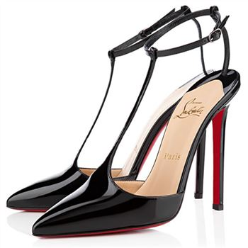 Christian Louboutin T-Piga 120mm Pumps Black