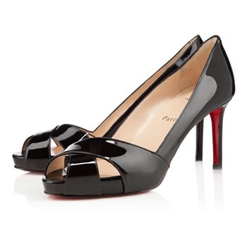 Christian Louboutin Shelleymat 80mm Pumps Black