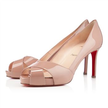 Christian Louboutin Shelleymat 80mm Pumps Nude