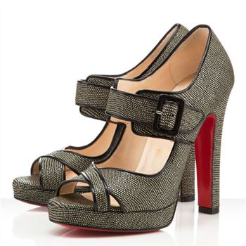 Christian Louboutin Dordogne 120mm Peep Toe Pumps Black