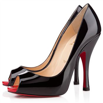 Christian Louboutin Maryl 120mm Peep Toe Pumps Black