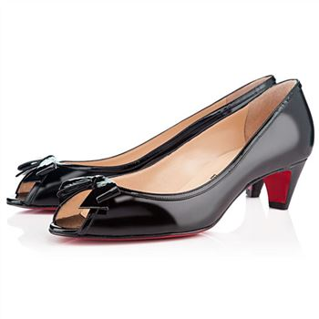 Christian Louboutin Milady 40mm Peep Toe Pumps Black