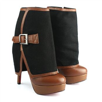Christian Louboutin Armony 140mm Ankle Boots Brown