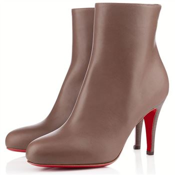 Christian Louboutin Bello 80mm Ankle Boots Taupe