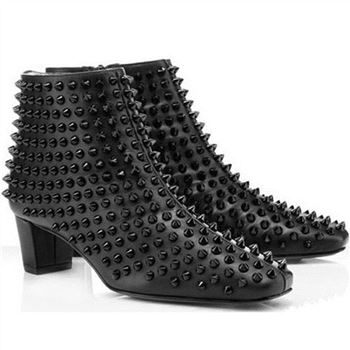 Christian Louboutin Aioli 40mm Ankle Boots Black