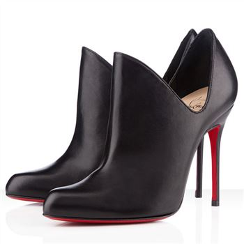 Christian Louboutin Dugueclina 100mm Ankle Boots Black