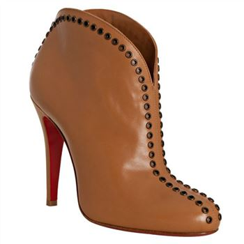 Christian Louboutin Catch Me 100mm Ankle Boots Brown