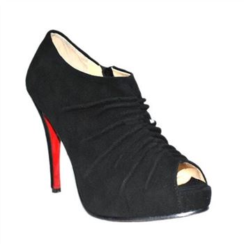 Christian Louboutin Treopli 120mm Ankle Boots Black