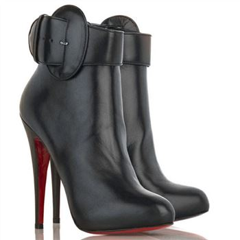 Christian Louboutin Trottinette 140mm Ankle Boots Black