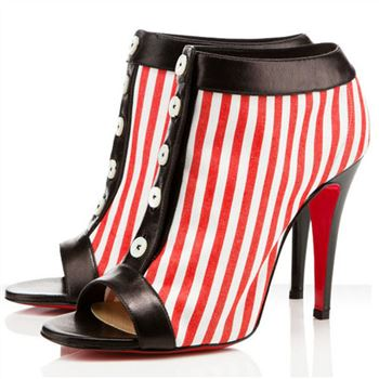 Christian Louboutin Maotic 120mm Ankle Boots Red