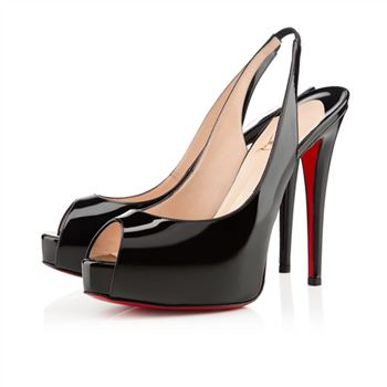 Christian Louboutin Flo 120mm Slingbacks Black