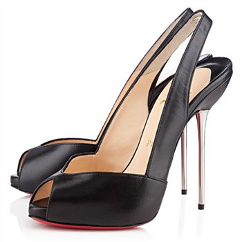 Christian Louboutin Boulimina 120mm Slingbacks Black