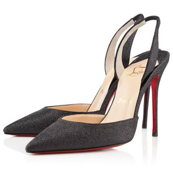 Christian Louboutin Ever 100mm Slingbacks Black