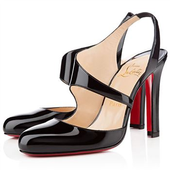 Christian Louboutin Atomic 100mm Slingbacks Black
