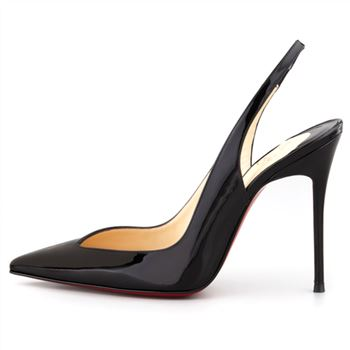 Christian Louboutin Flueve 120mm Slingbacks Black
