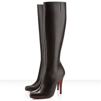 Christian Louboutin Bourge 100mm Boots Black