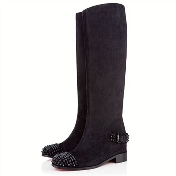 Christian Louboutin Egoutina 40mm Boots Black