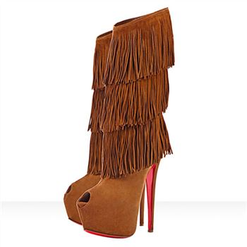 Christian Louboutin Highness Tina 160mm Boots Brown