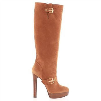 Christian Louboutin Harletty 140mm Boots Brown