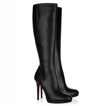 Christian Louboutin New Simple Botta 120mm Boots Black