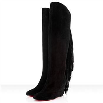 Christian Louboutin Pouliche 80mm Boots Black