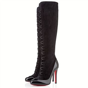Christian Louboutin Gwendoline 100mm Boots Black