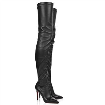 Christian Louboutin Lili 100mm Boots Black